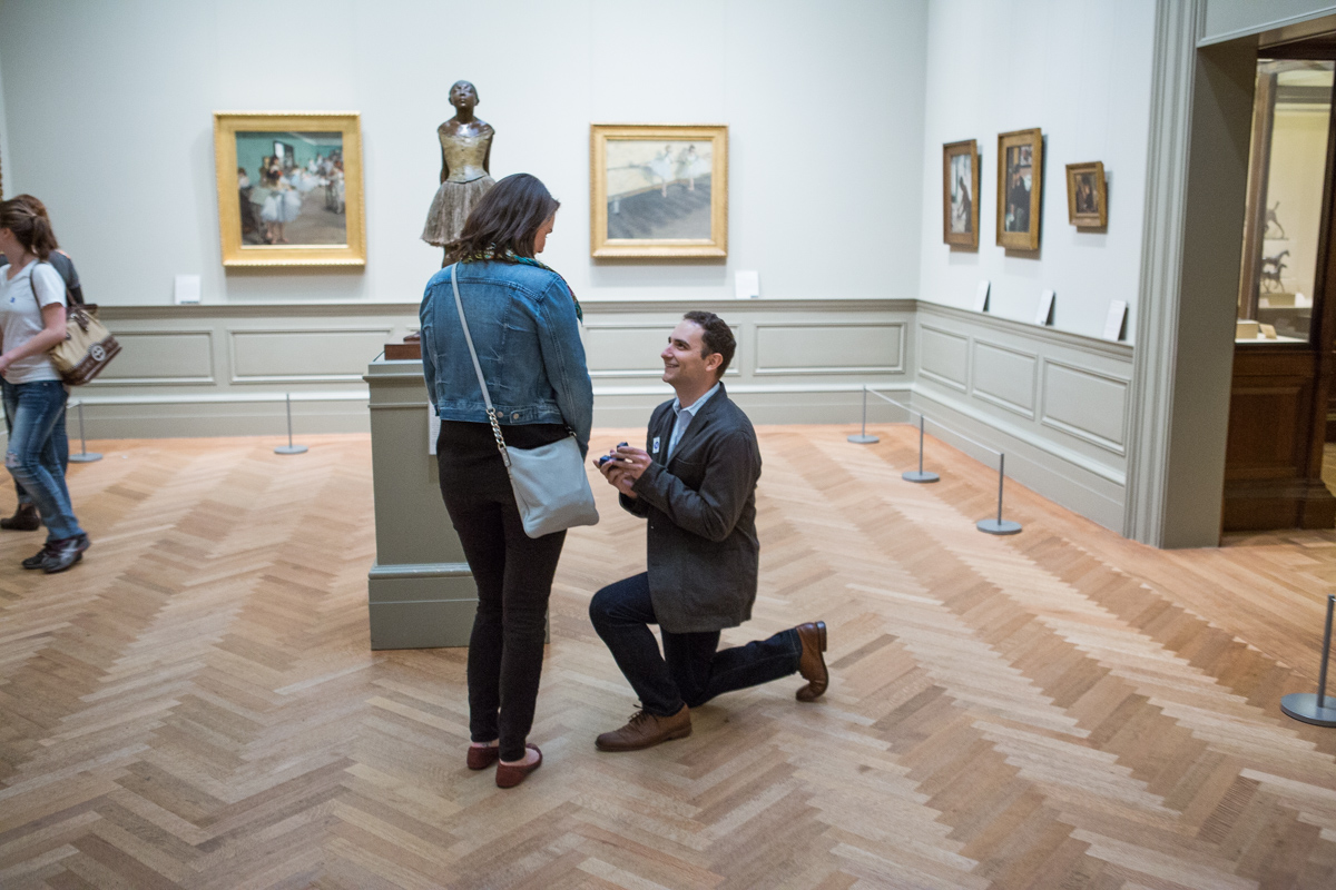 Photo 2 Metropolitan Museum of Art marriage proposal | VladLeto