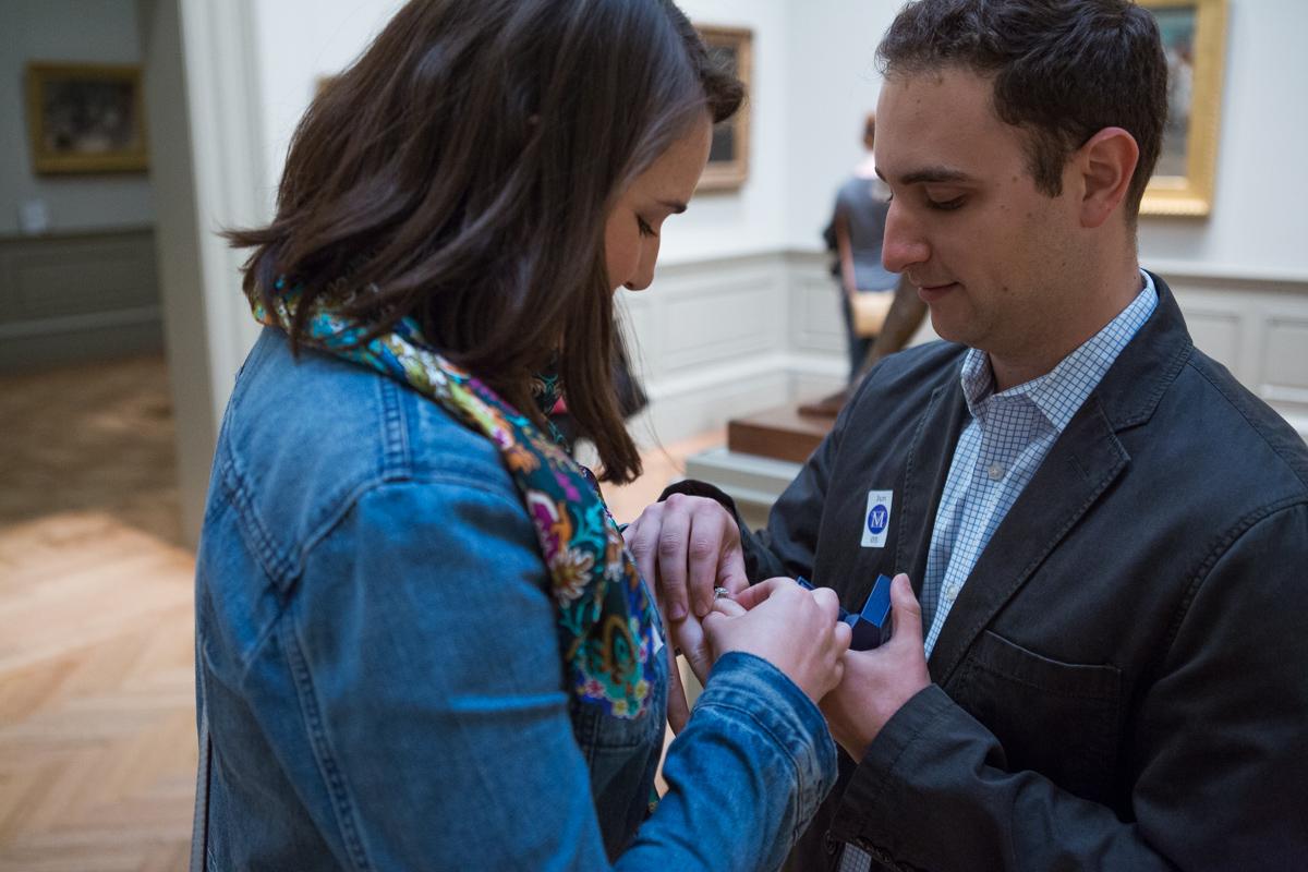 Photo 6 Metropolitan Museum of Art marriage proposal | VladLeto