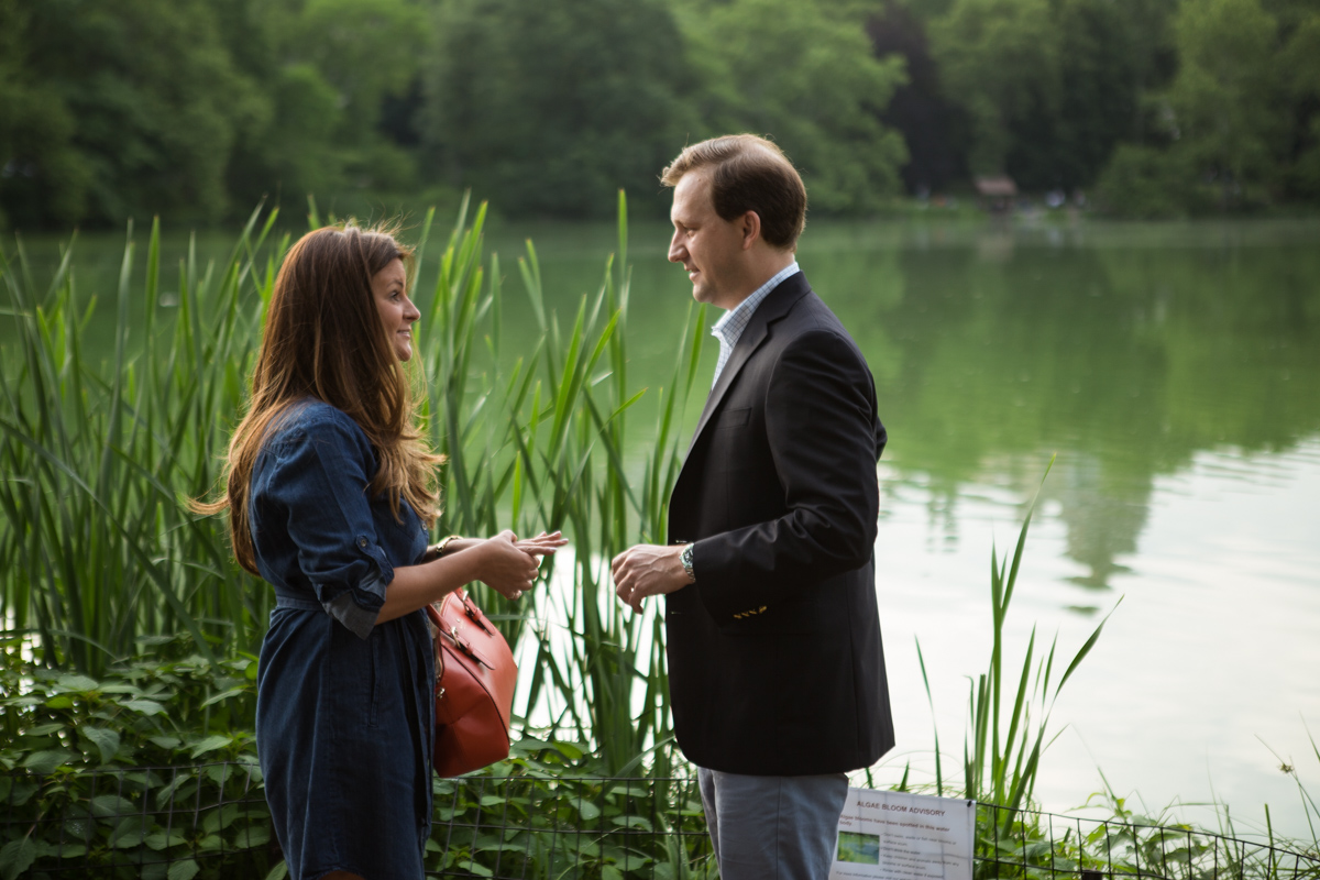 Photo 11 Central park wedding proposal by the Lake | VladLeto