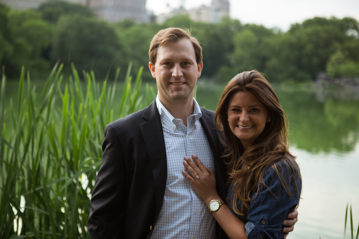 Photo 6 Central park wedding proposal by the Lake | VladLeto