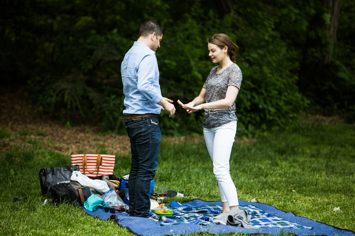 Photo 13 Strawberry Fields in Central Park wedding proposal | VladLeto