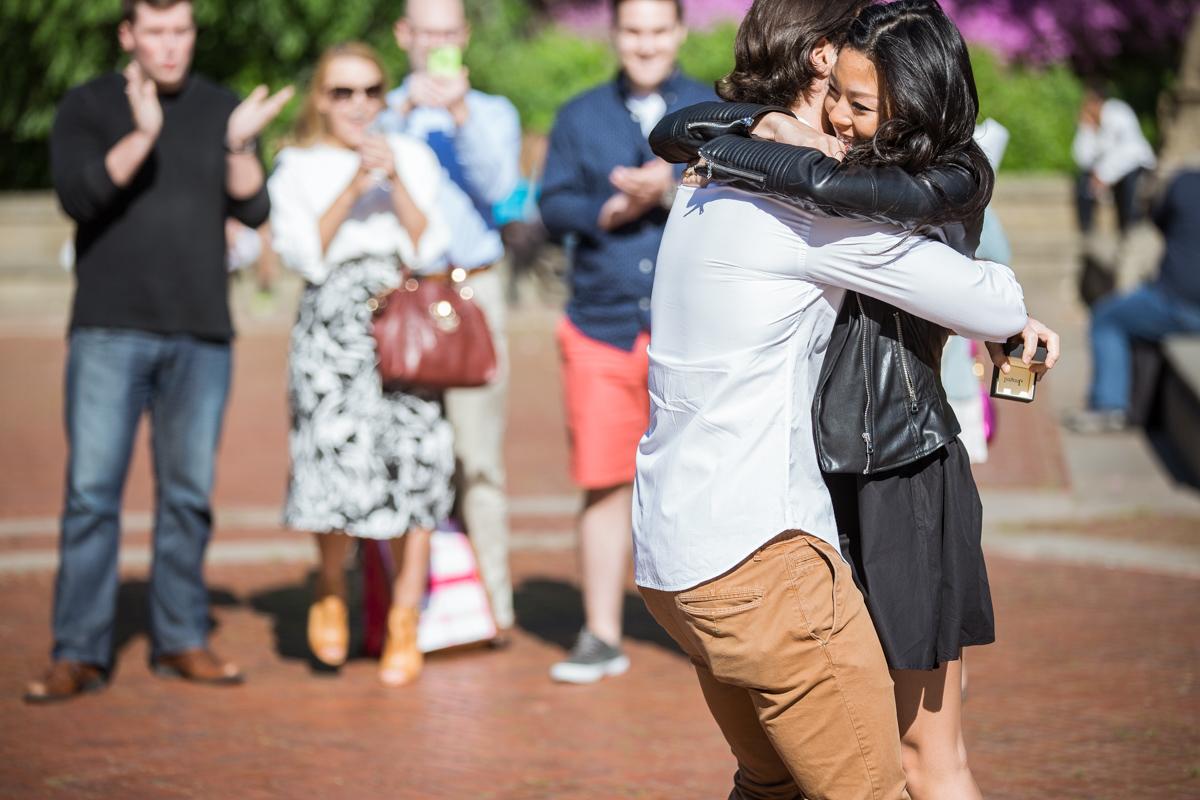 Photo 4 Bethesda Fountain marriage proposal | VladLeto