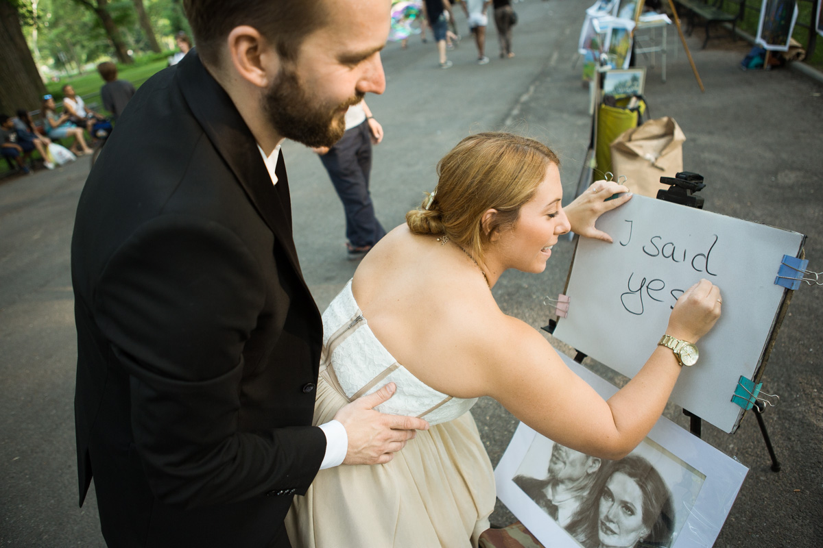 Photo 5 Gapstow Bridge marriage proposal in Central Park | VladLeto