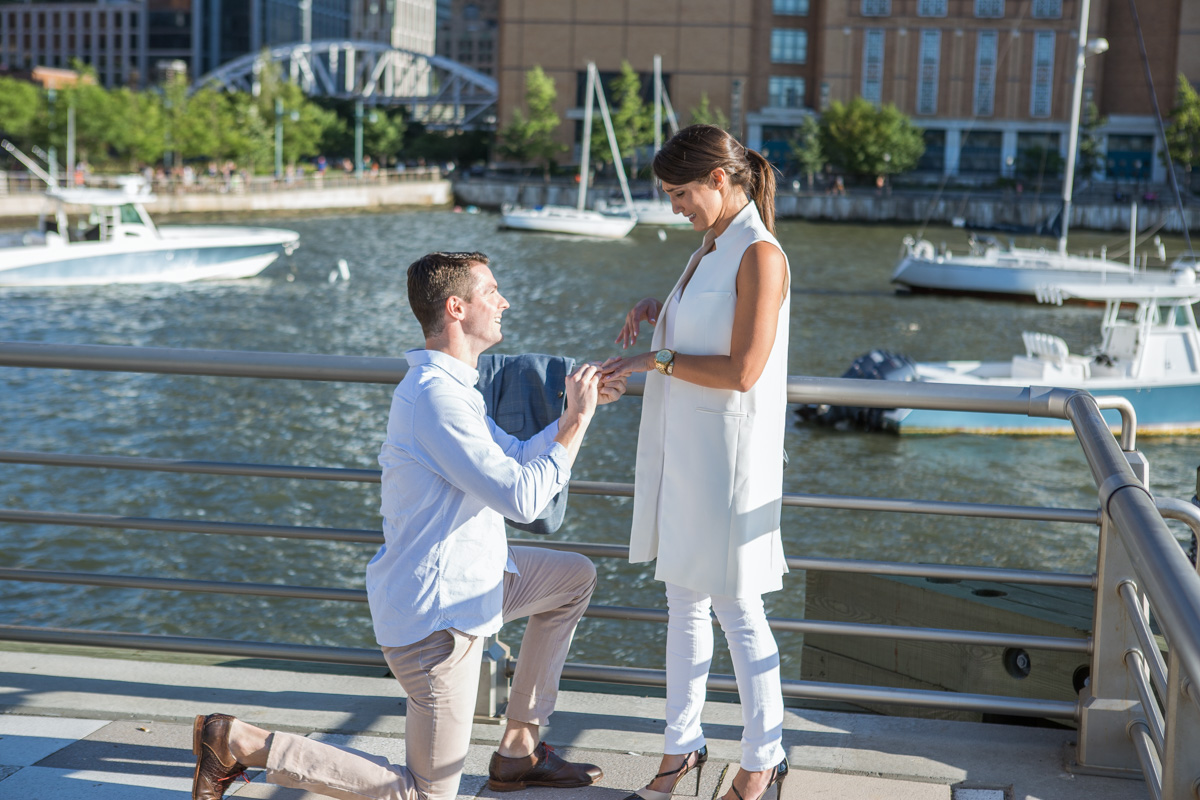 Photo 2 Battery Park Marriage Proposal | VladLeto