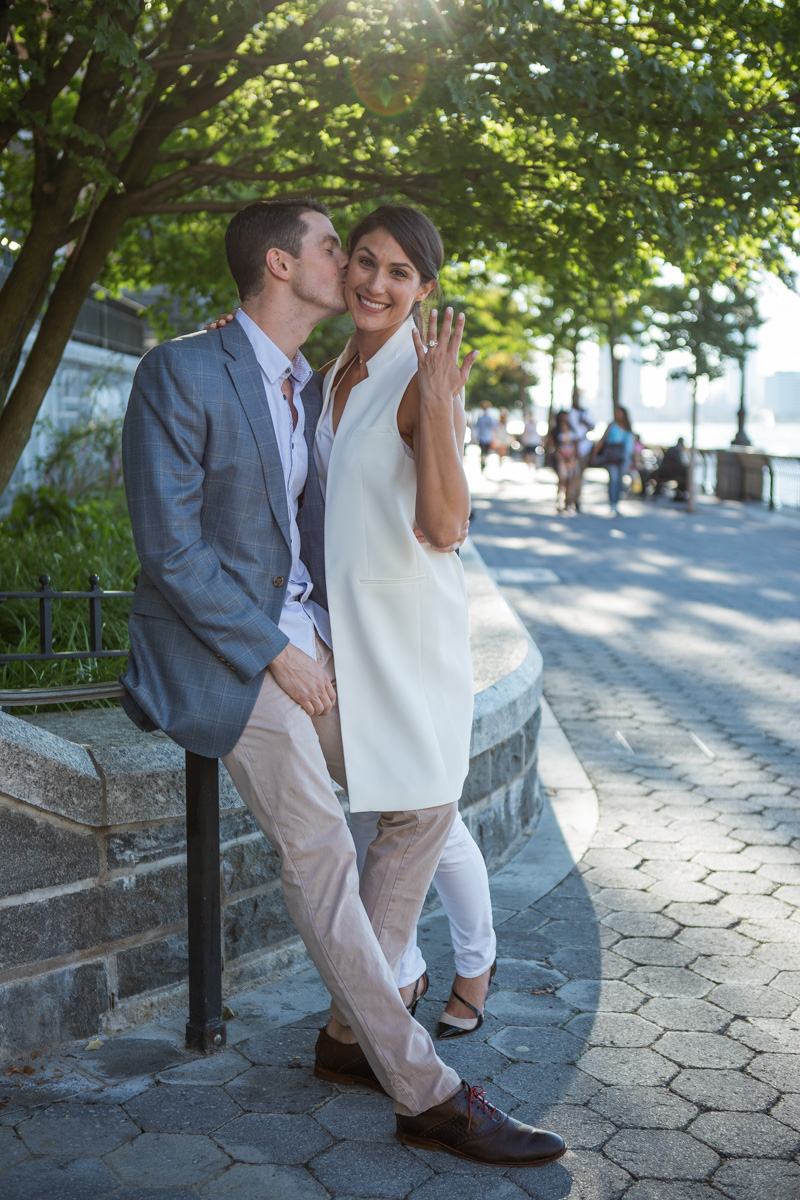 Photo 11 Battery Park Marriage Proposal | VladLeto