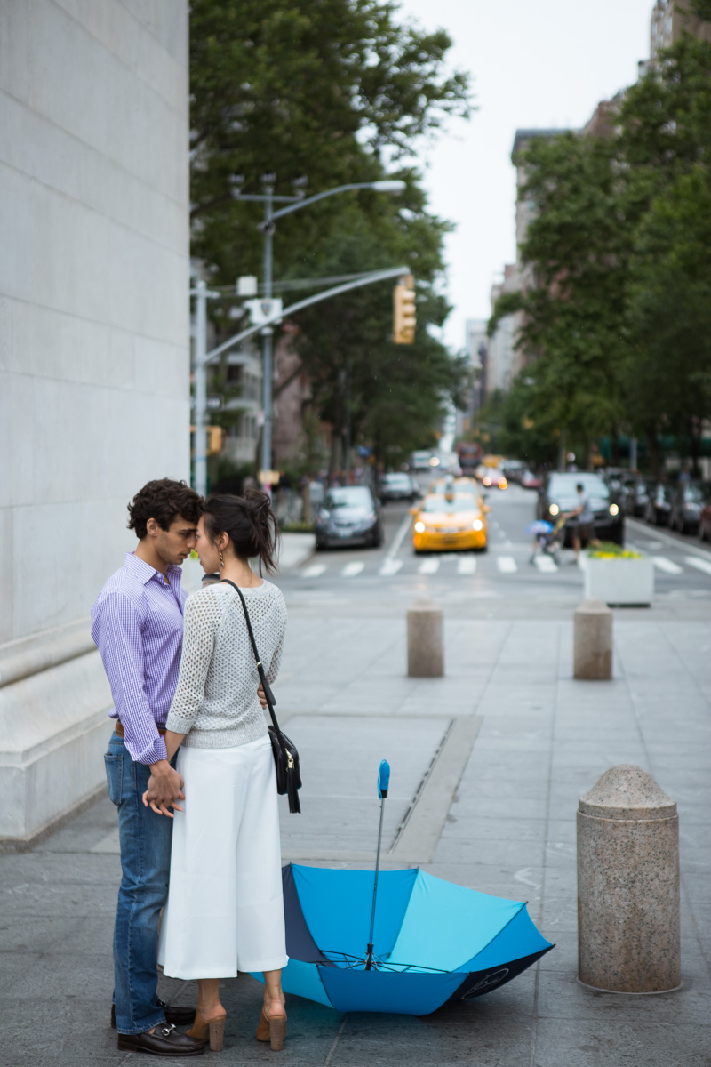 [Proposal in Washington Square Park ]– photo[2]