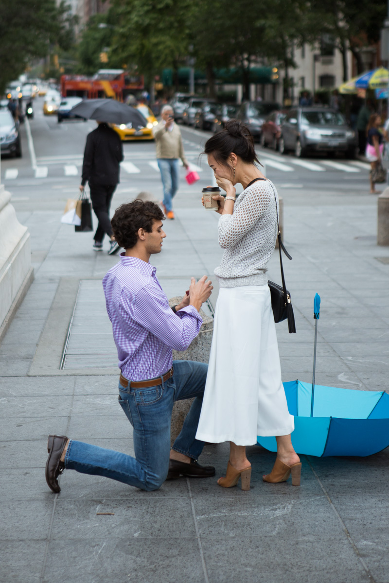 [Proposal in Washington Square Park ]– photo[5]