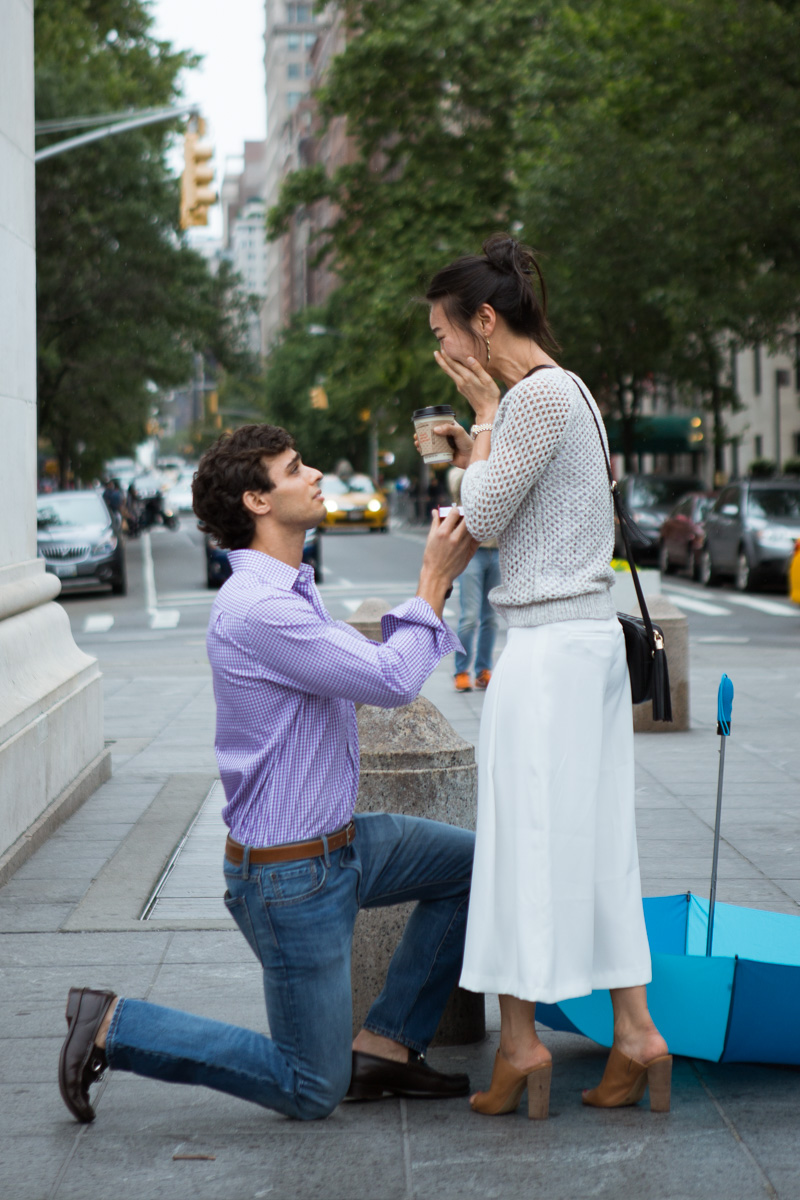 [Proposal in Washington Square Park ]– photo[4]
