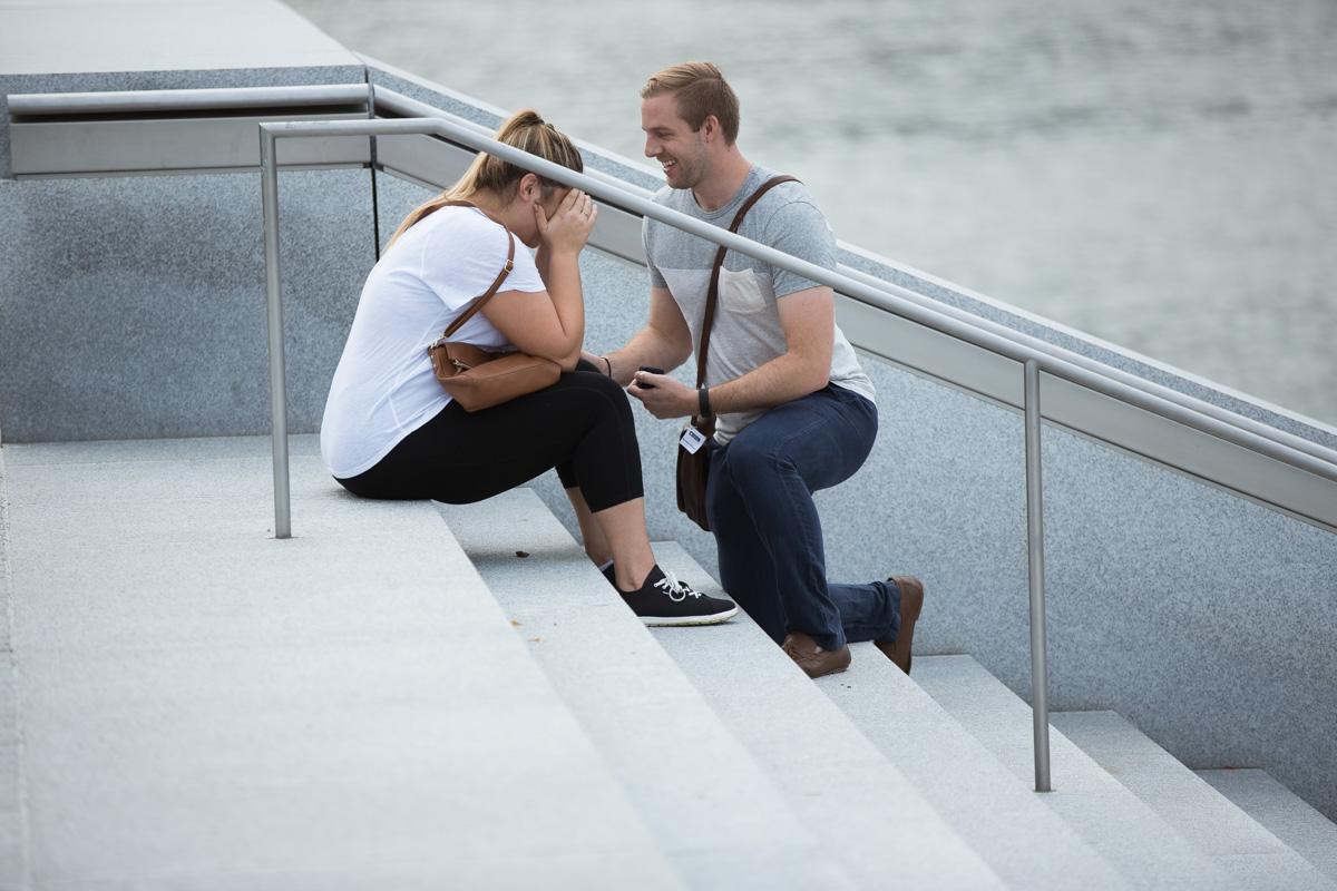 Photo 3 Roosevelt Island Marriage Proposal | VladLeto