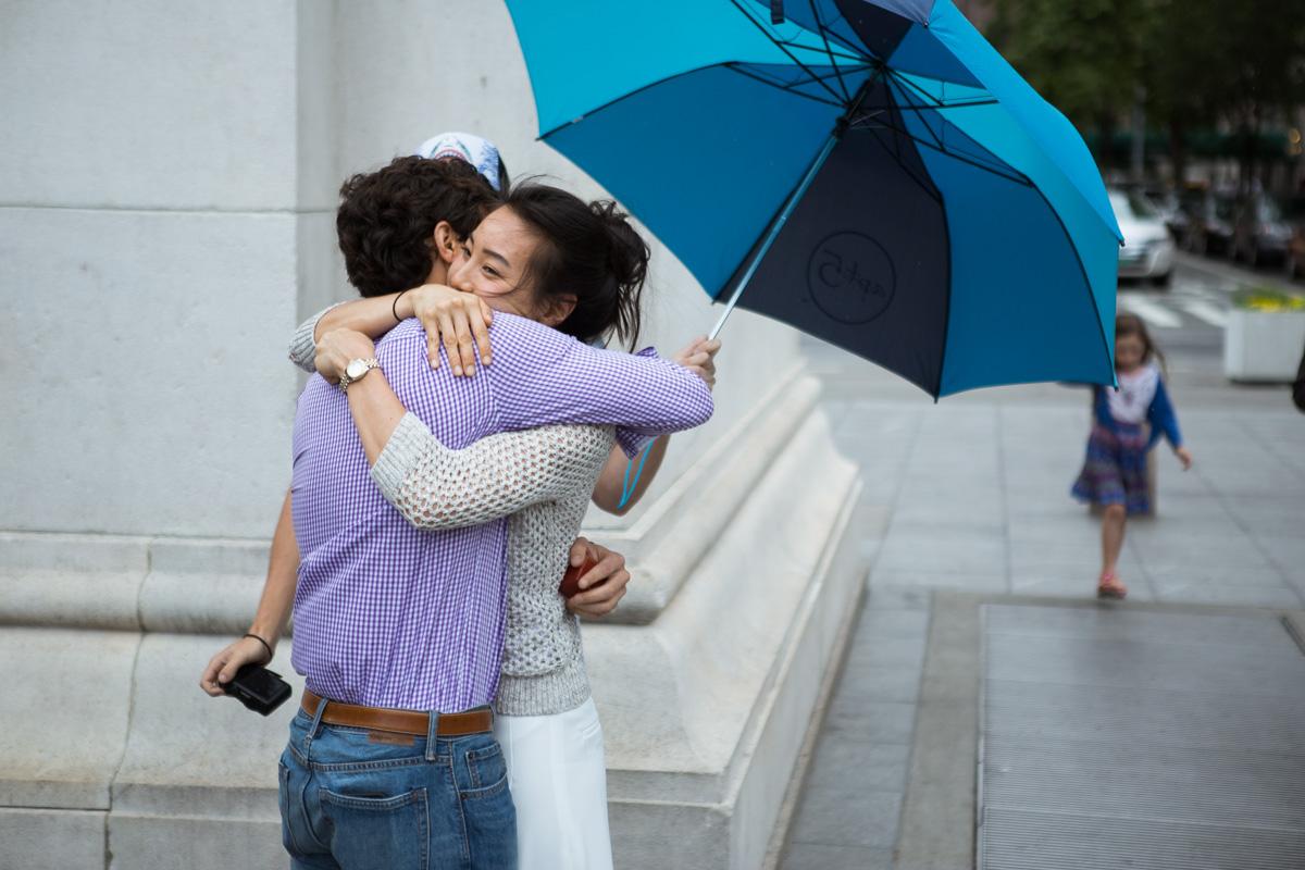 Photo 8 Proposal in Washington Square Park. | VladLeto