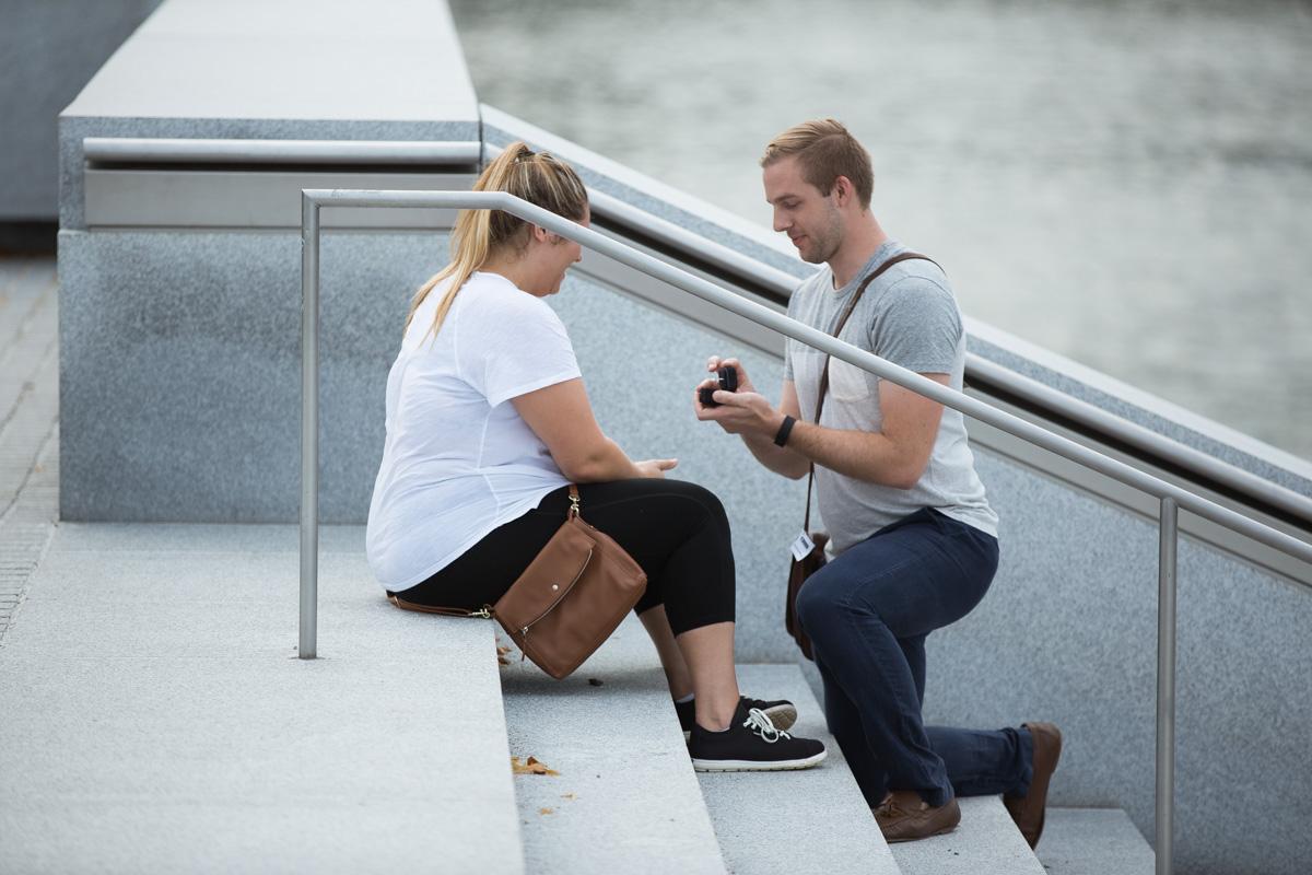 Photo Roosevelt Island Marriage Proposal | VladLeto