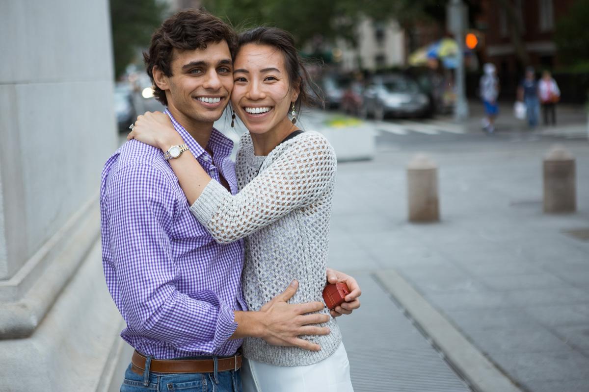Photo 9 Proposal in Washington Square Park. | VladLeto
