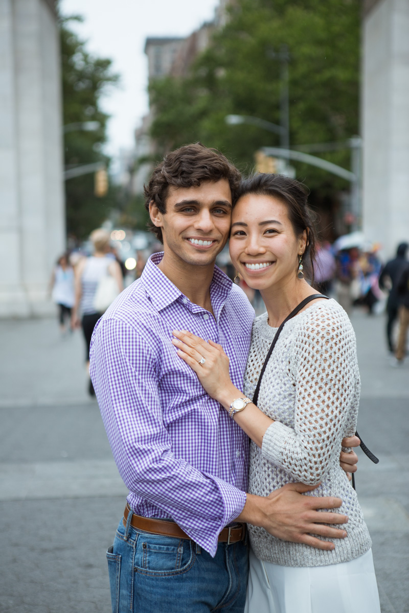 [Proposal in Washington Square Park ]– photo[10]