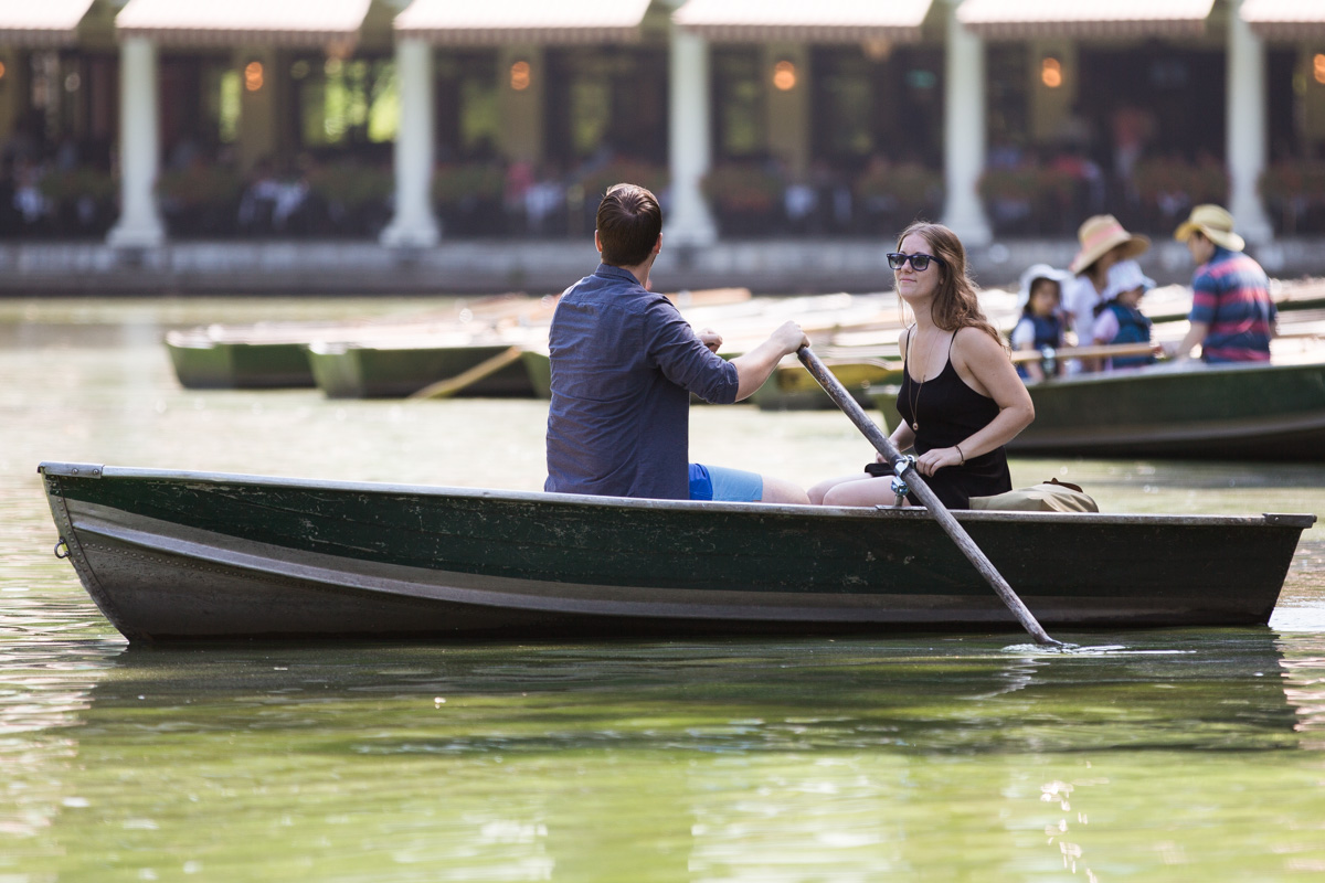 [Central Park Marriage Proposal on a raw boat]– photo[1]