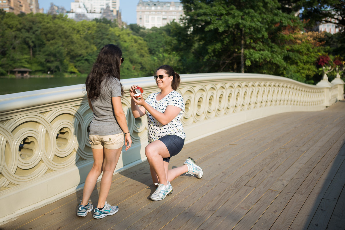 Photo BOW BRIDGE MARRIAGE PROPOSAL LGBT| VladLeto