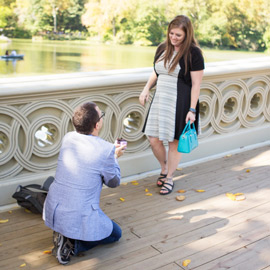 Photo Bow bridge wedding proposal. | VladLeto
