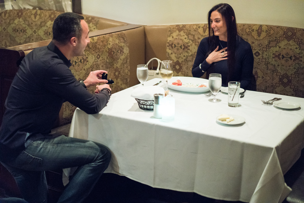 Photo 2 Marriage proposal at Rothmann's Steakhouse in East Norwich, NY | VladLeto