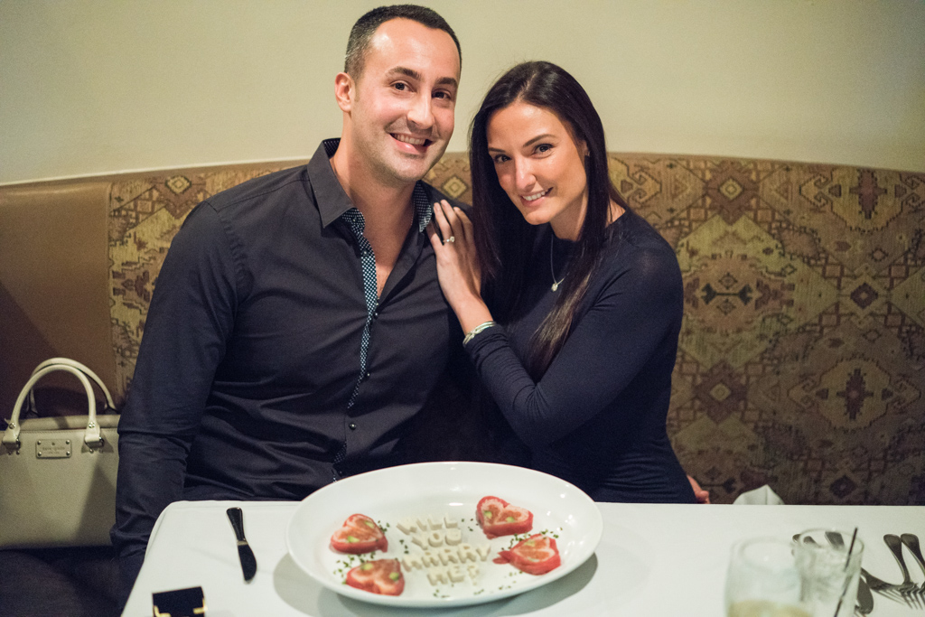 Photo 3 Marriage proposal at Rothmann's Steakhouse in East Norwich, NY | VladLeto