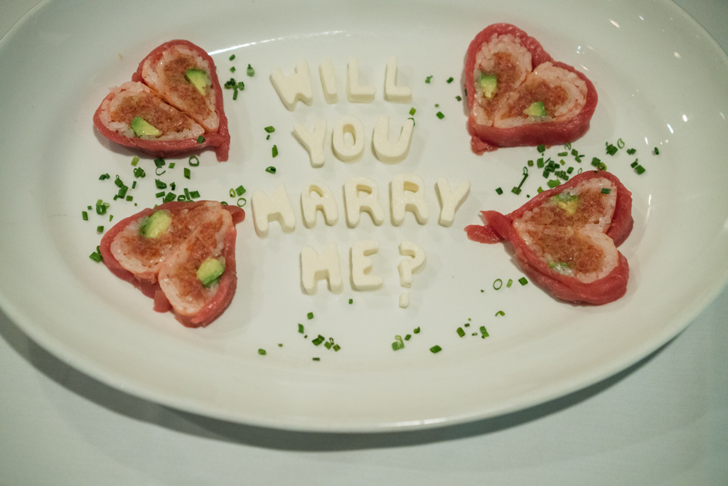 Photo 4 Marriage proposal at Rothmann's Steakhouse in East Norwich, NY | VladLeto