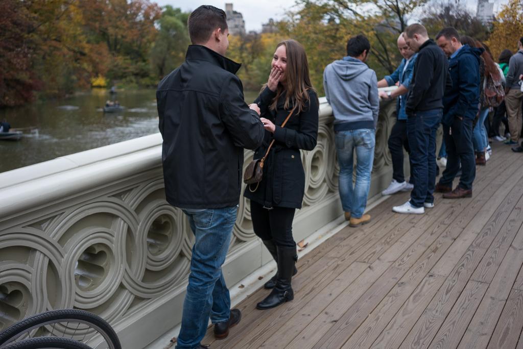 Photo 4 Central Park - Bow Bridge secret proposal. | VladLeto