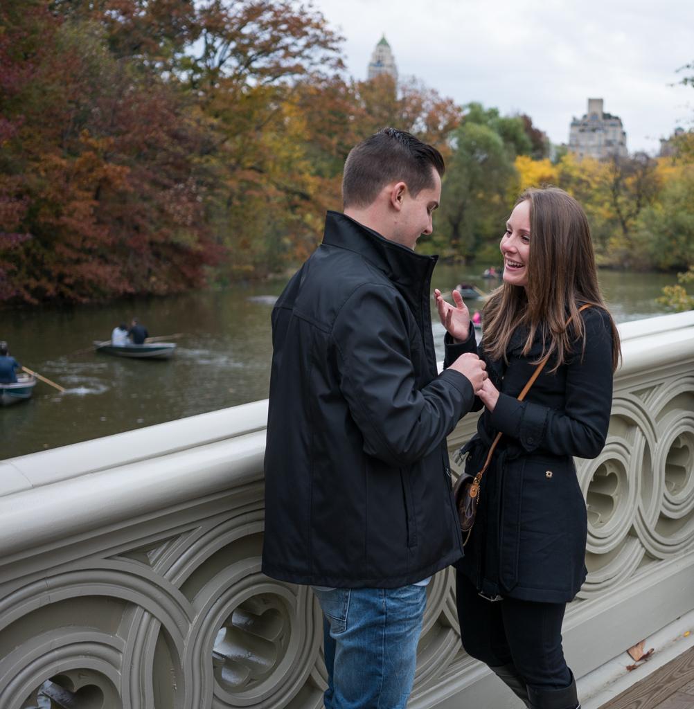 Photo 7 Central Park - Bow Bridge secret proposal. | VladLeto