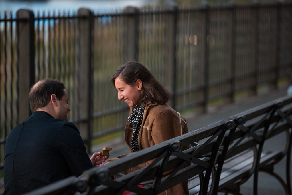 Photo Brooklyn Promenade marriage proposal. | VladLeto