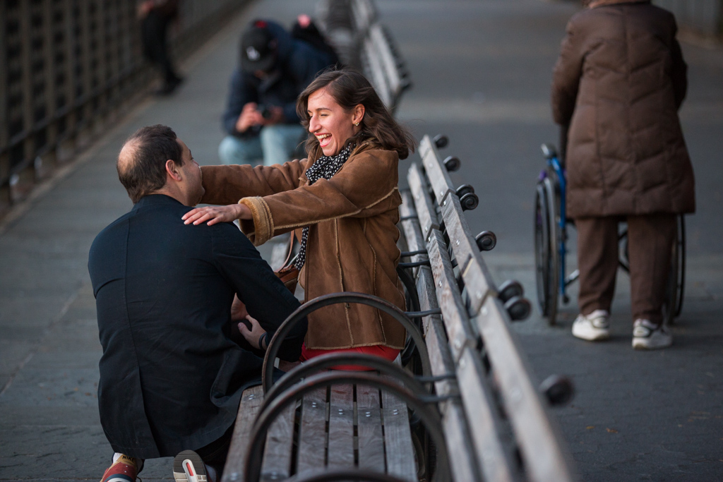 Photo 3 Brooklyn Promenade marriage proposal. | VladLeto