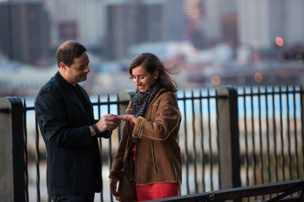 Photo 4 Brooklyn Promenade marriage proposal. | VladLeto