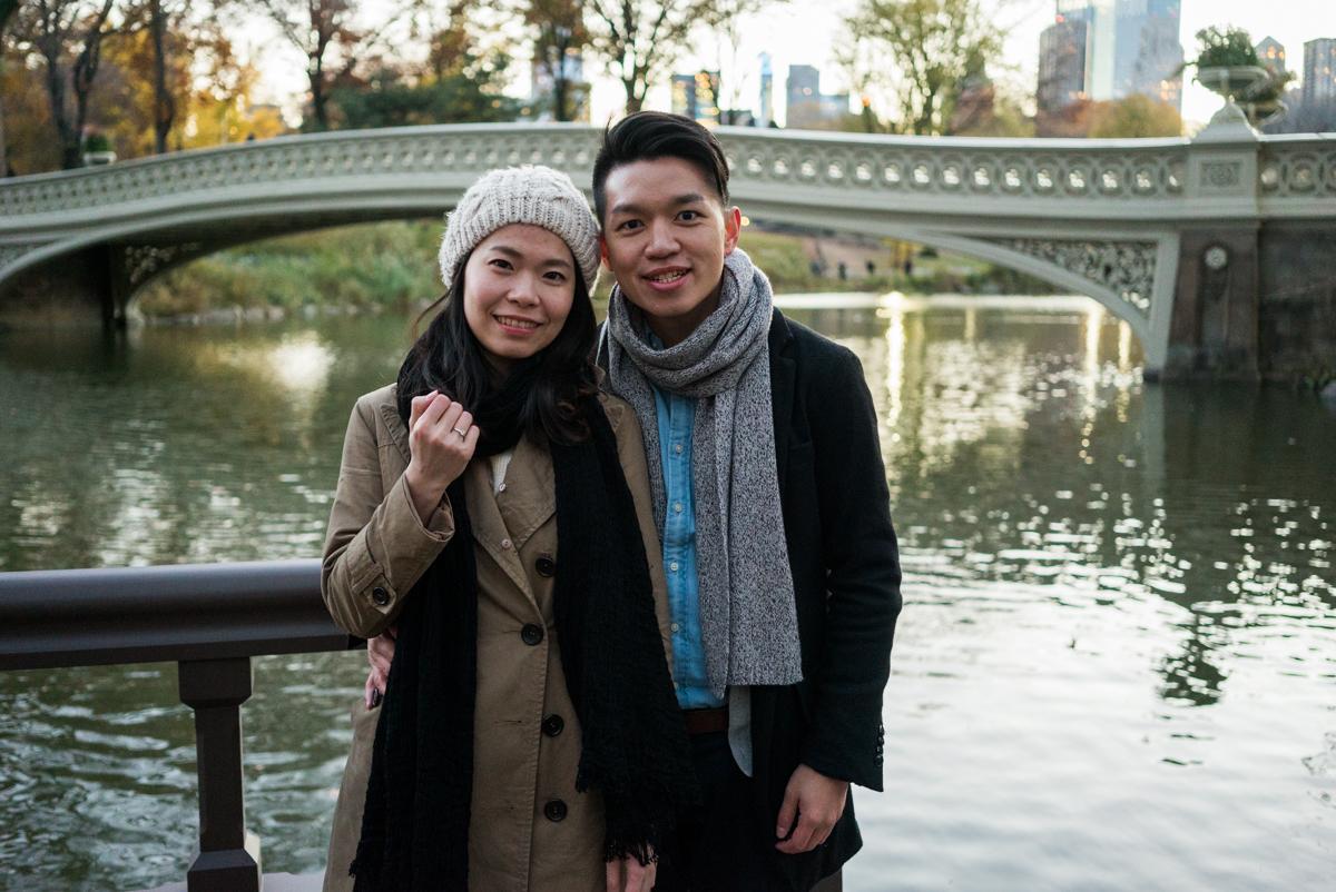Photo 4 Central Park Bow bridge Surprise Proposal | VladLeto