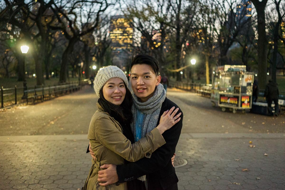 Photo 6 Central Park Bow bridge Surprise Proposal | VladLeto