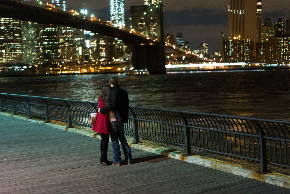 Photo Brooklyn Bridge park marriage proposal.   VladLeto