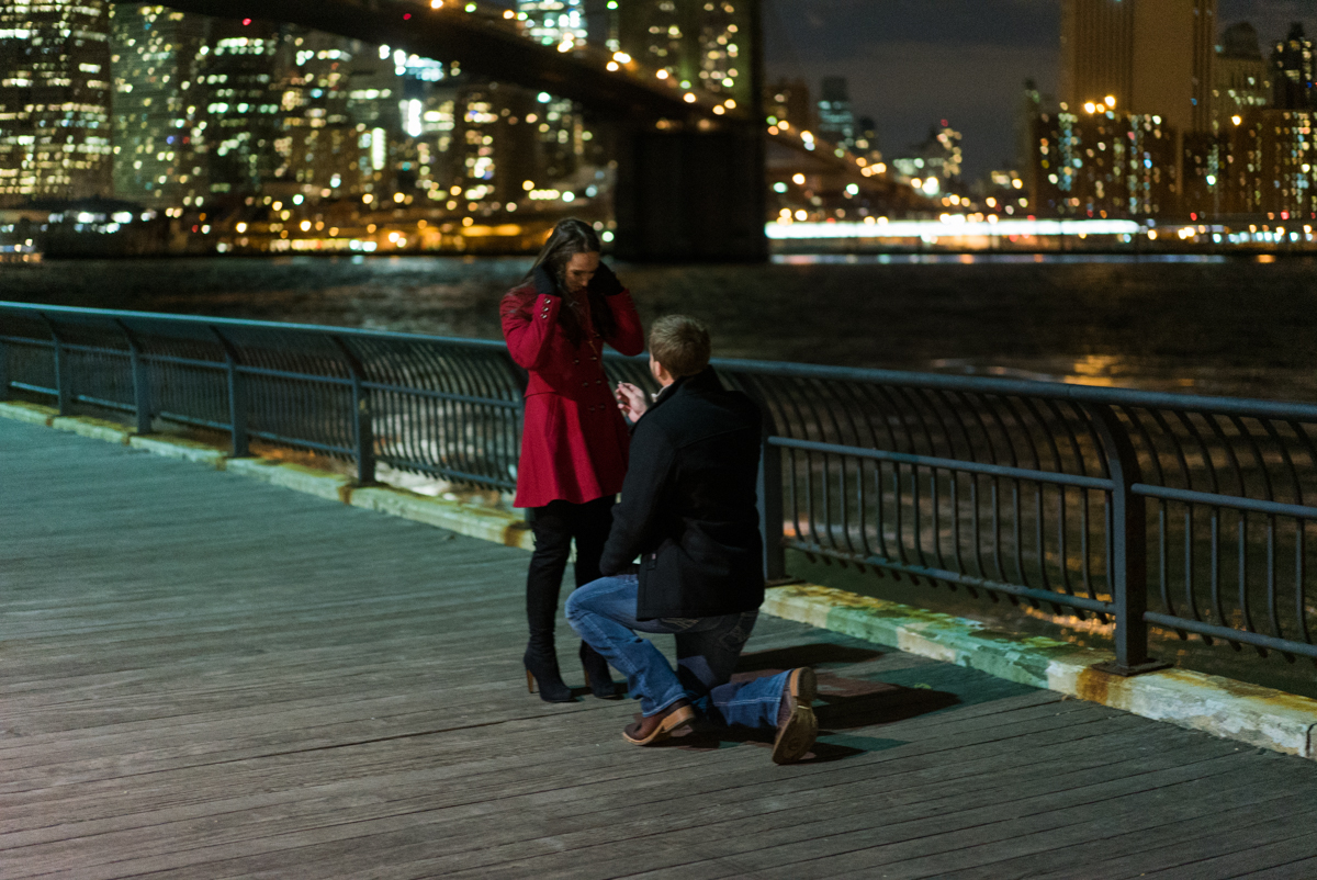 Photo 3 Brooklyn Bridge park marriage proposal. | VladLeto