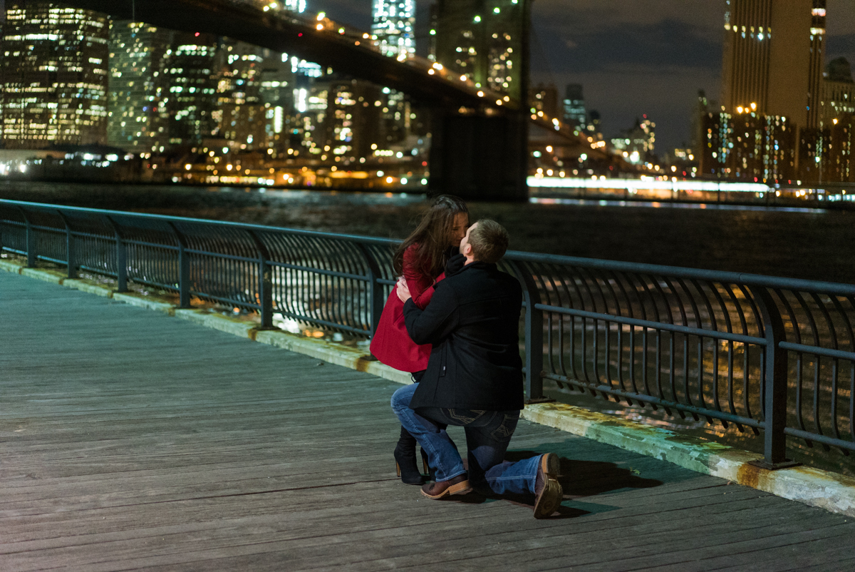 Photo 4 Brooklyn Bridge park marriage proposal. | VladLeto