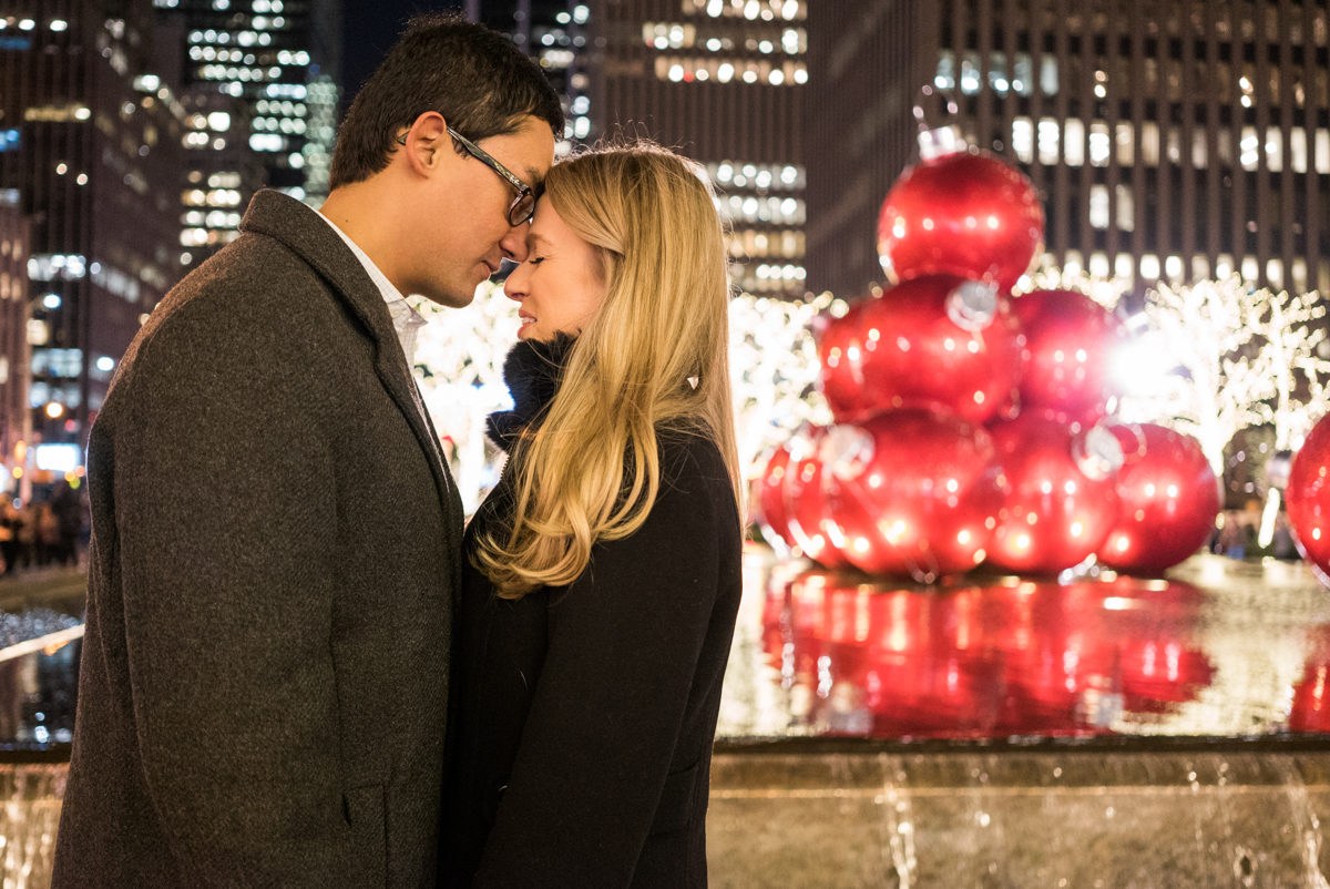 Photo 15 Christmas tree at Rockefeller Center secret proposal | VladLeto