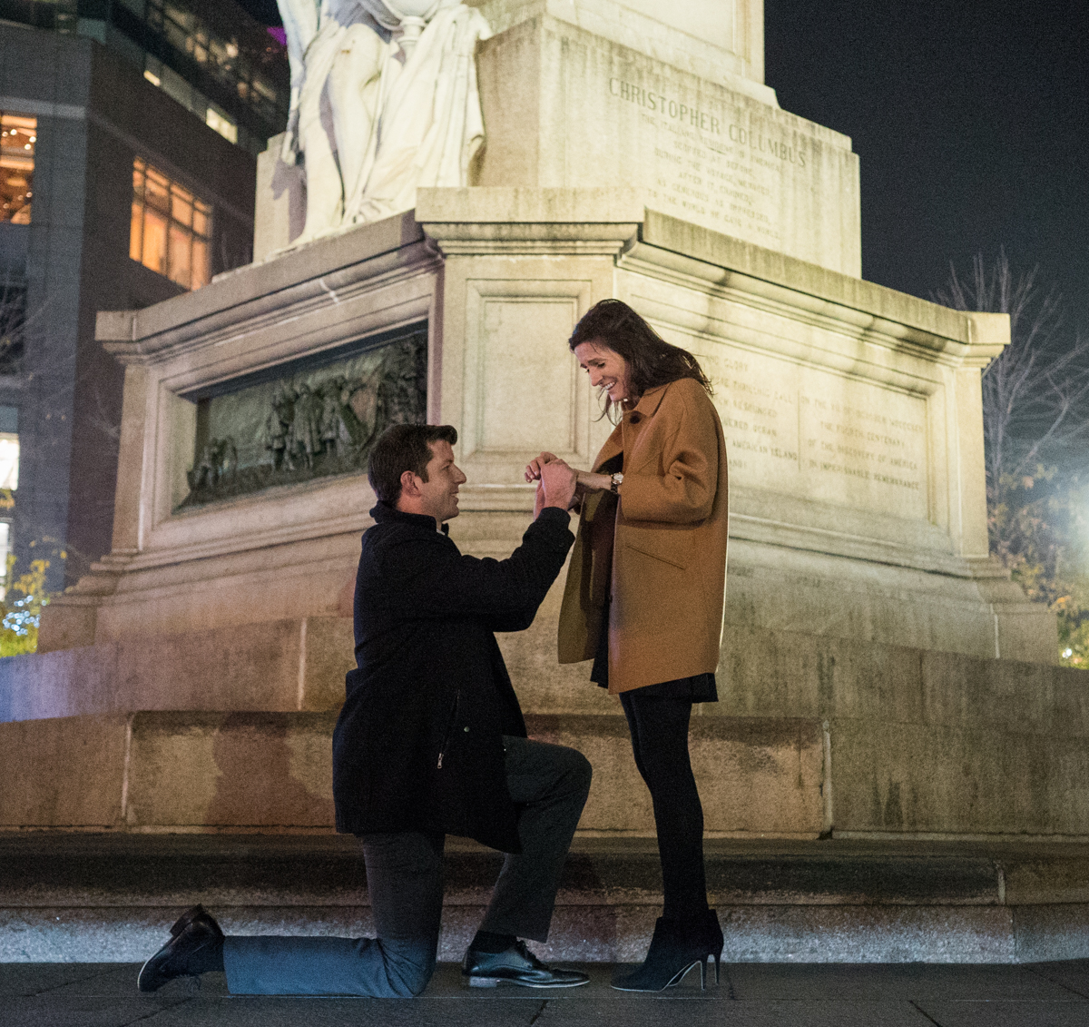 Photo 3 Columbus Circle Marriage proposal. | VladLeto