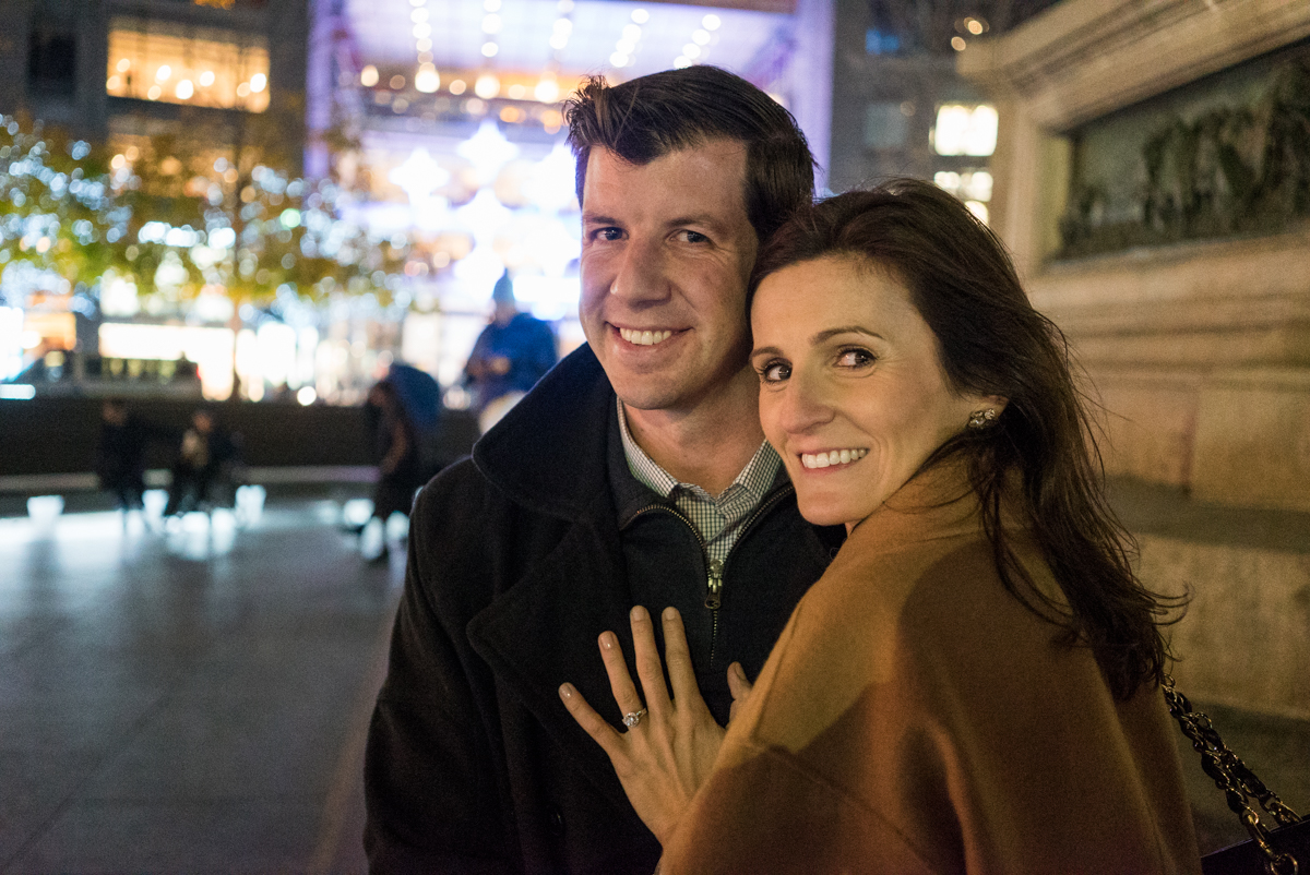 Photo 7 Columbus Circle Marriage proposal. | VladLeto
