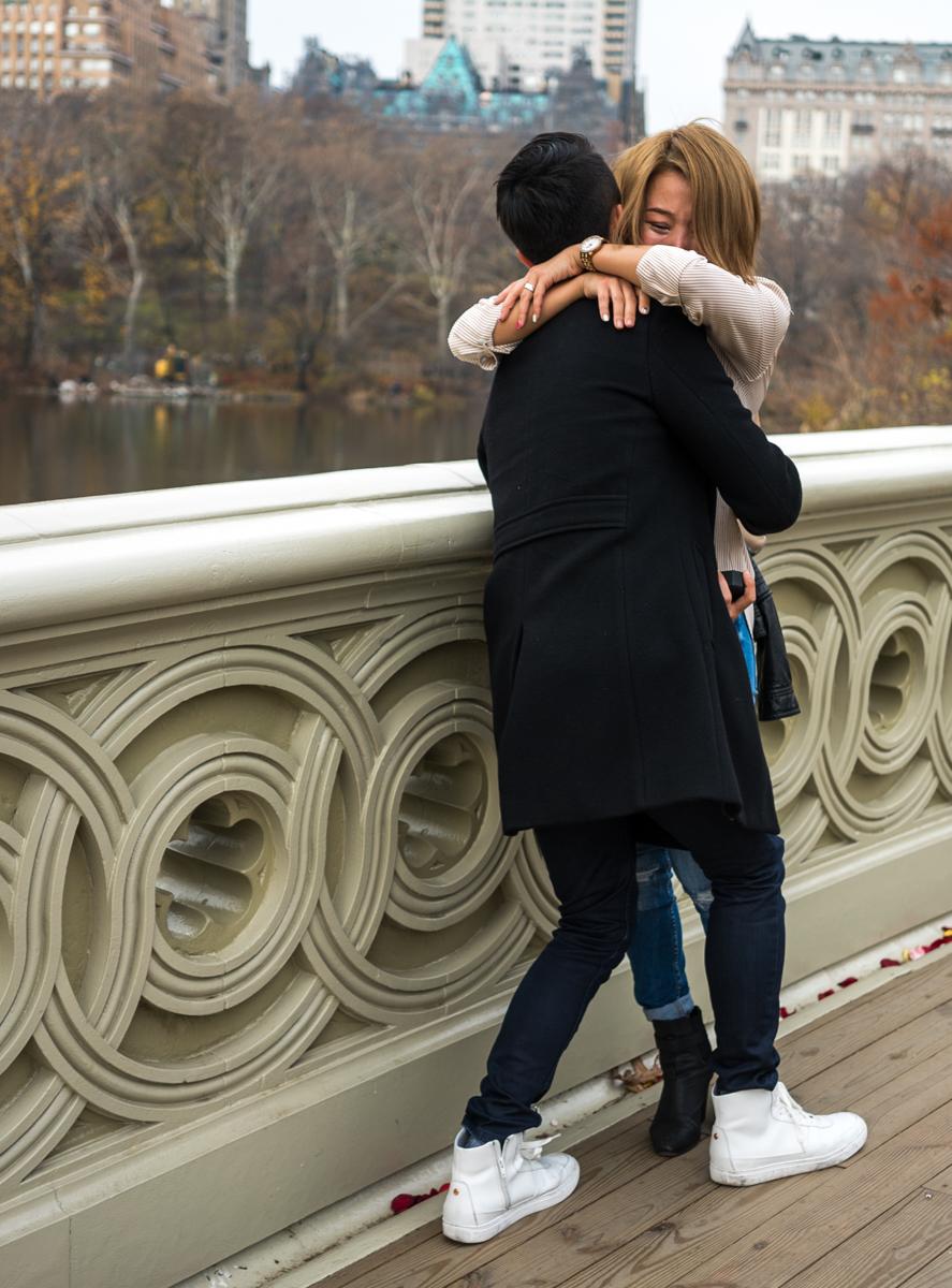 Photo 3 Bow Bridge Marriage proposal NYC | VladLeto