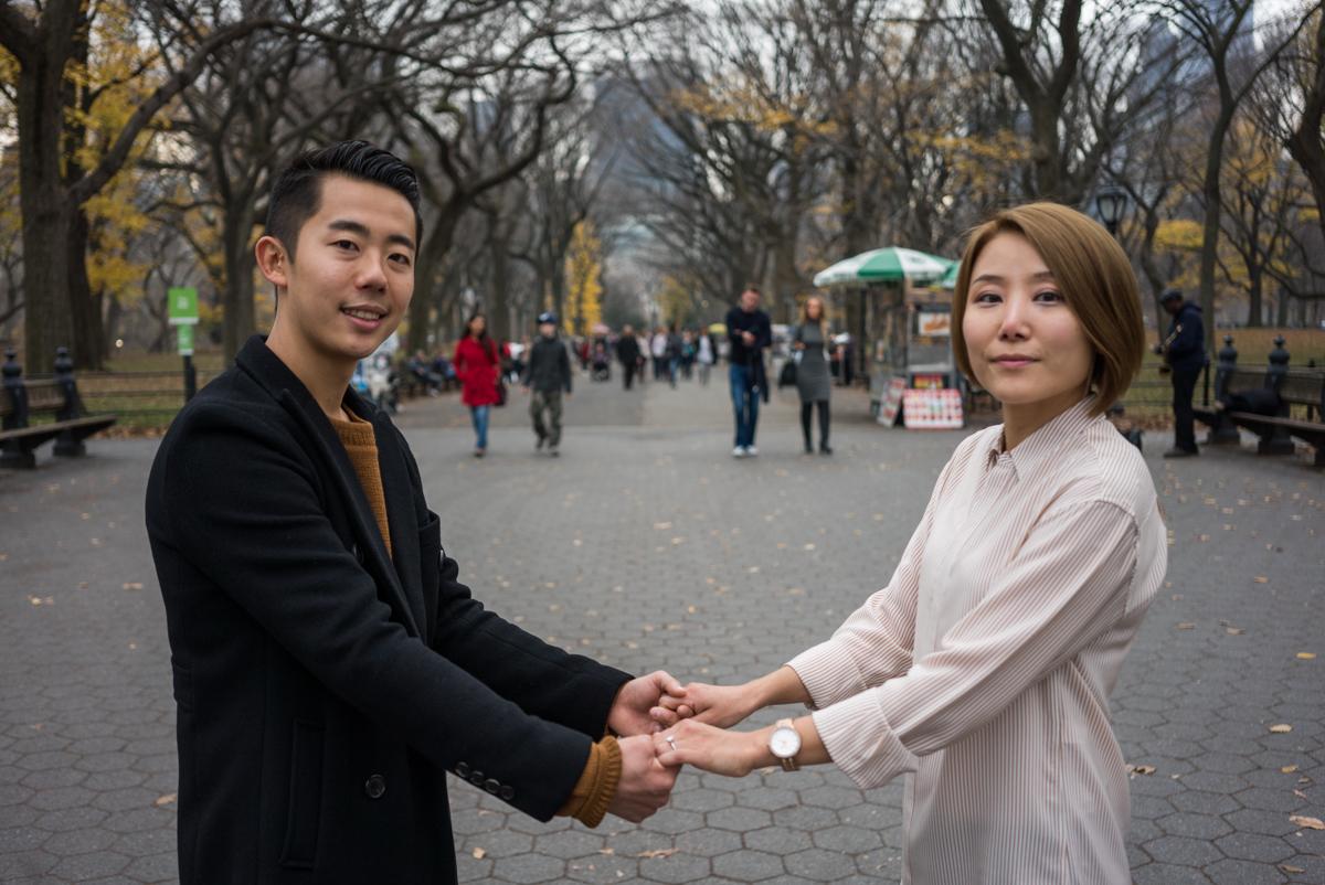 Photo 7 Bow Bridge Marriage proposal NYC | VladLeto