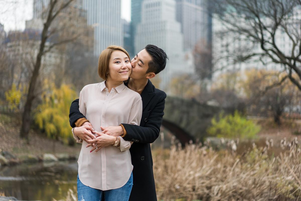 Photo 9 Bow Bridge Marriage proposal NYC | VladLeto