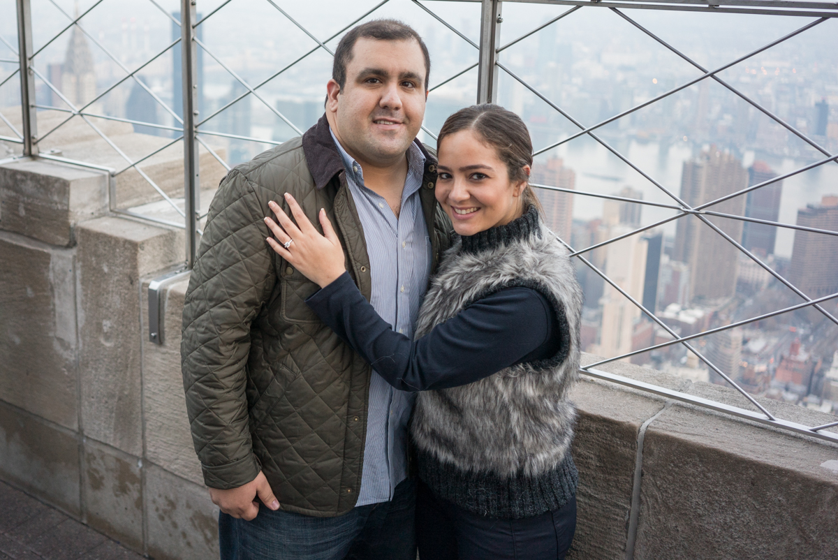 Photo 5 Empire State building Marriage Proposal | VladLeto