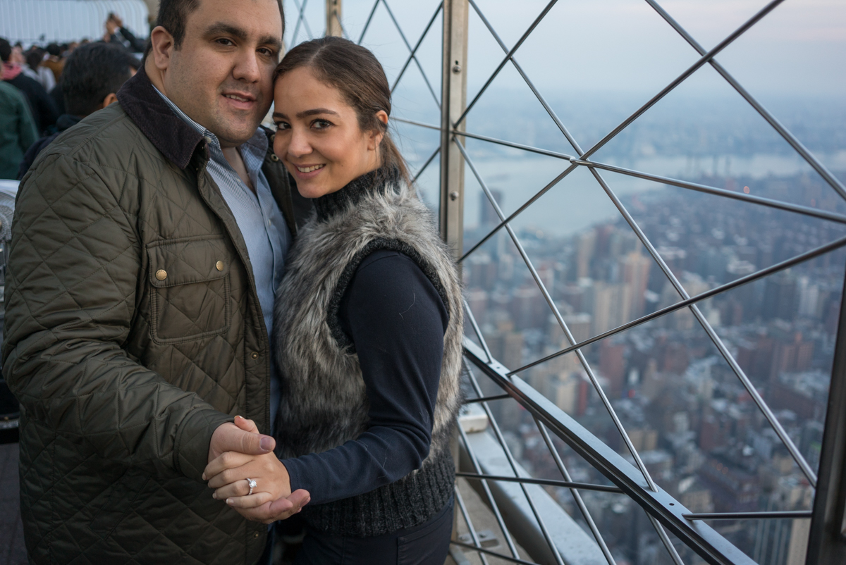 Photo 11 Empire State building Marriage Proposal | VladLeto