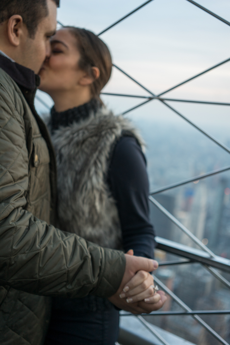 Photo 13 Empire State building Marriage Proposal | VladLeto