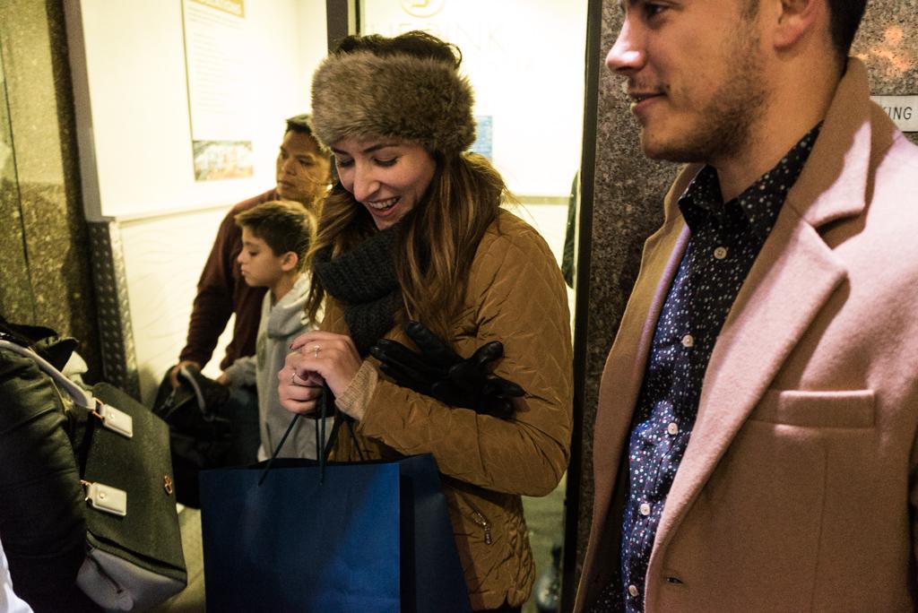 Photo 19 Engagement on Ice - The Rink at Rockefeller Center secret proposal. | VladLeto