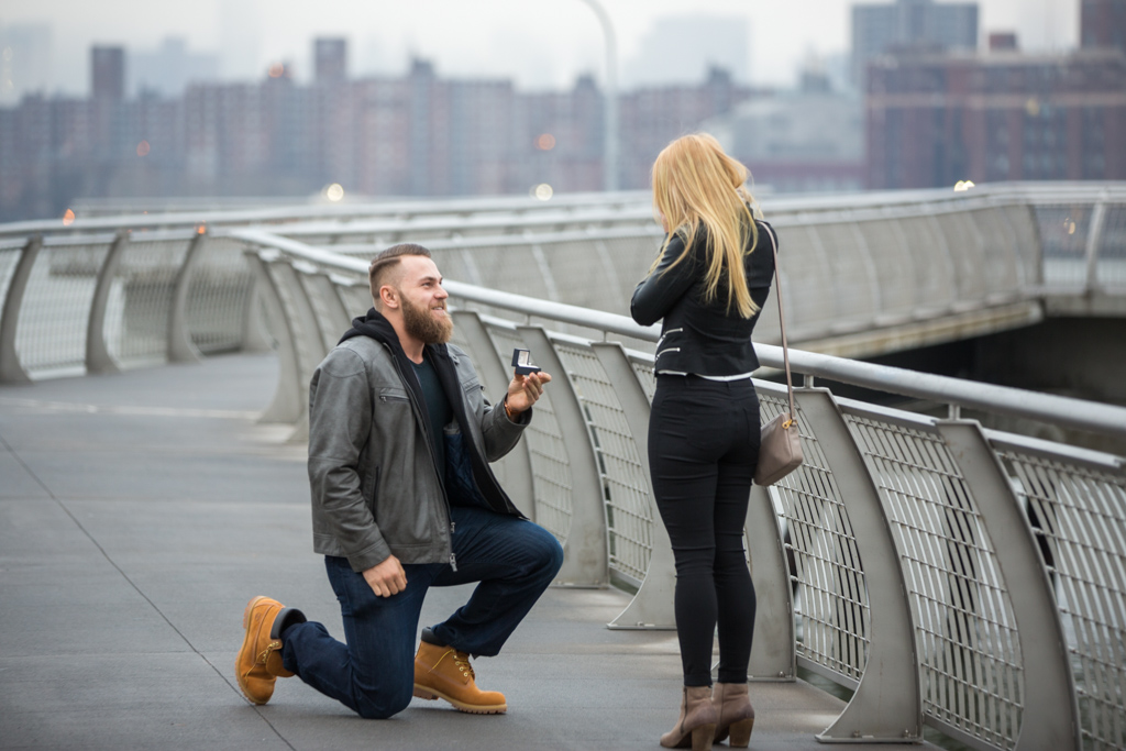 Photo 6 Greenpoint Brooklyn marriage proposal at secret spot. | VladLeto