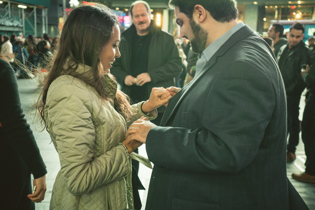 Photo 7 Times Square Marriage proposal New York City | VladLeto