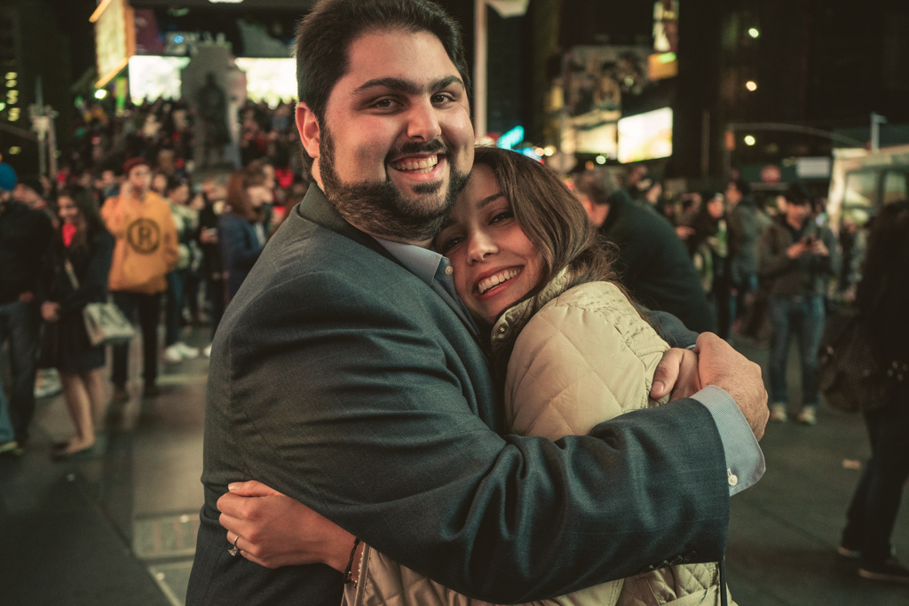 Photo 8 Times Square Marriage proposal New York City | VladLeto