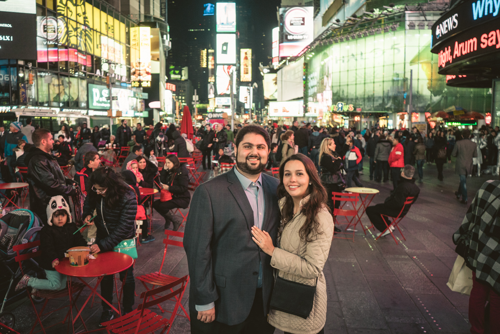 Photo 15 Times Square Marriage proposal New York City | VladLeto