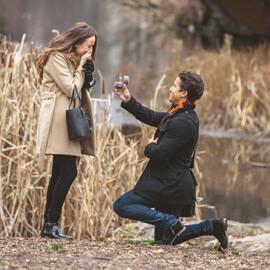 Photo Central Park Marriage proposal under Gapstow bridge | VladLeto