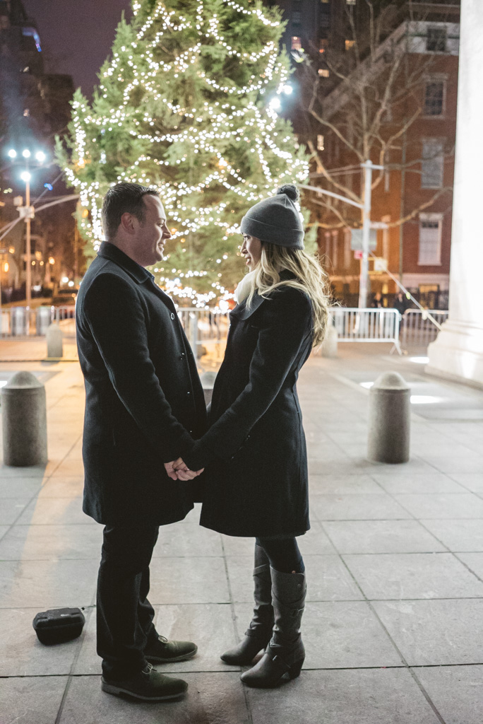 Photo 4 Washington Square Marriage proposal New York City | VladLeto