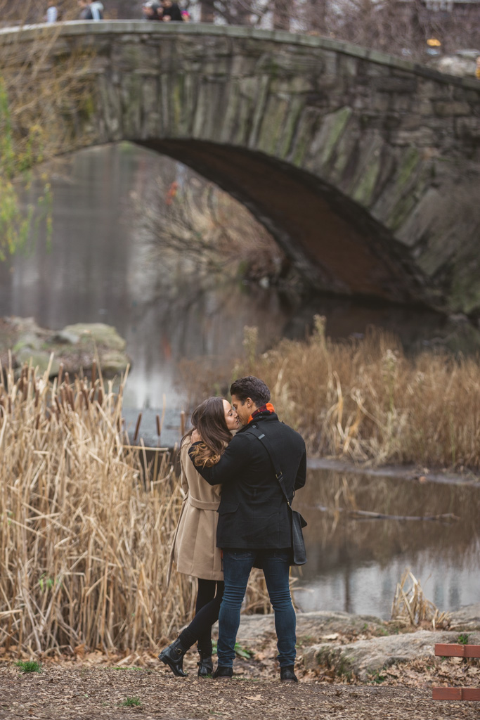 Photo 7 Central Park Marriage proposal under Gapstow bridge | VladLeto
